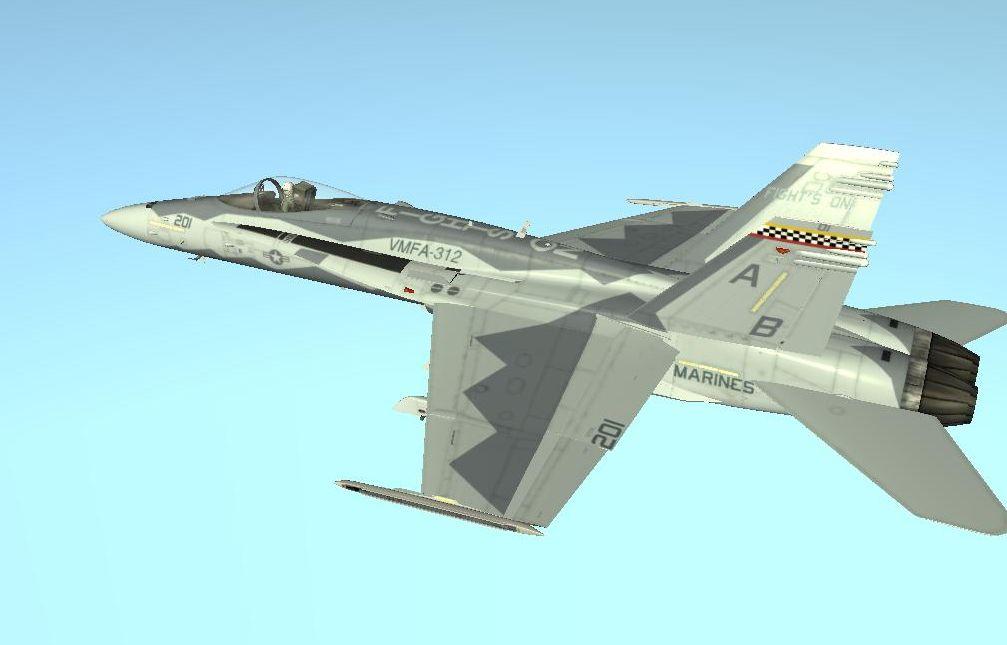 F-18C 'Fight's On' DCS Skin by EricJ562 on DeviantArt