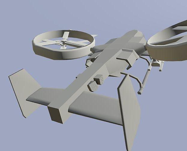 UCAV Design by EricJ562