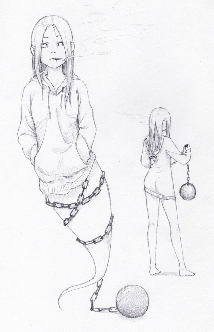 Ghost Girl by NatahanKataka