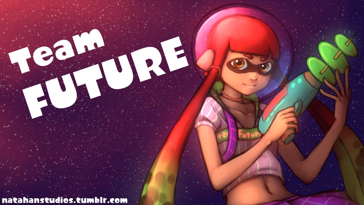 Team Future! Splatoon Splatfest by NatahanKataka