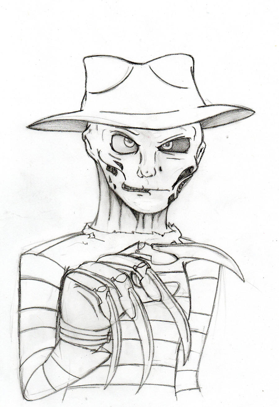 Freddy Krueger ~ This won't hurt... much~ pencil by ...