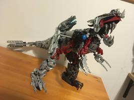 Exavius, Metal Divinosaur