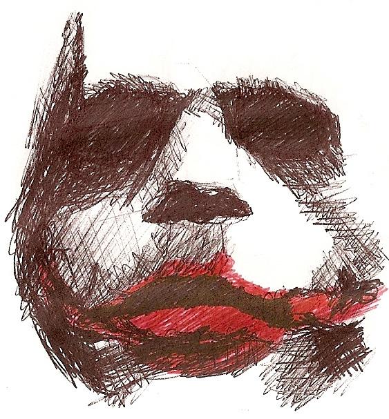The Joker's Face by Belissimorte