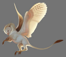 Owl Gryph 25-05-18 by Servaline