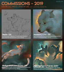 [PRICE CHANGE!] Art Commissions by Servaline
