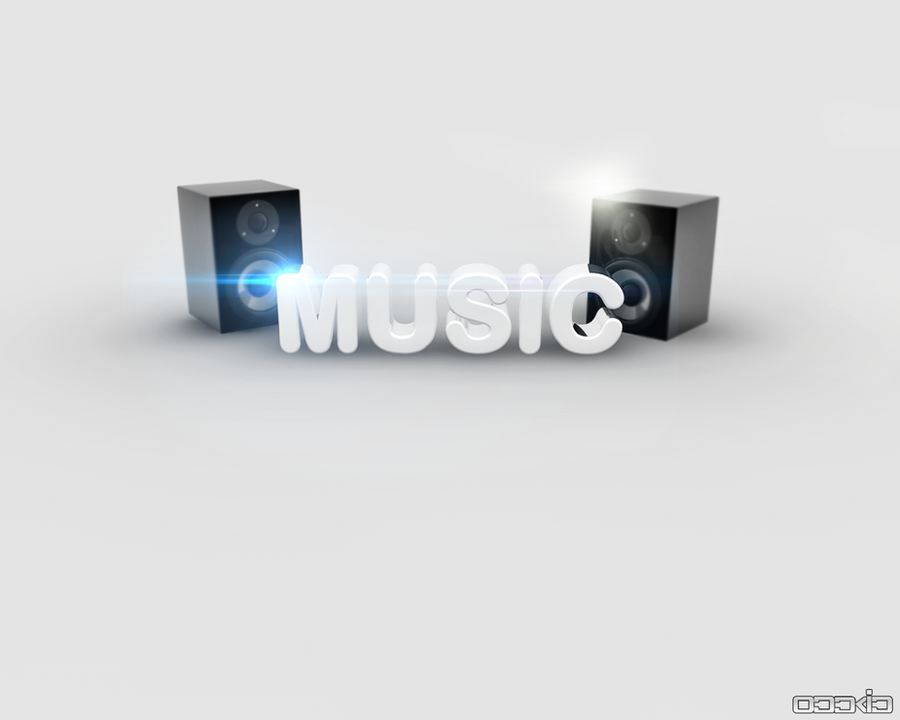 Music Wallpaper 3d Text By Oddkidd