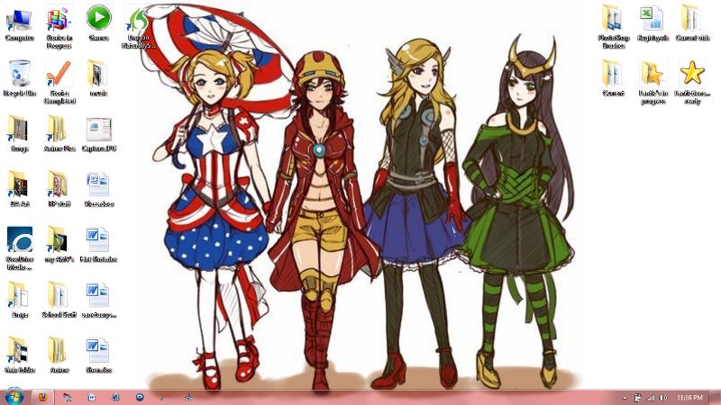 Fem!Avengers Assemble! by GuardianKrayla
