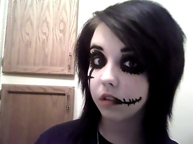 Andy Sixx Knives And Pens Makeup Andy Biersack inspired makeup2