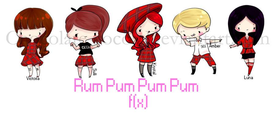 f(x) Rum Pum Pum Pum by Chocolate-Cocoa on DeviantArt F(x) Rum Pum Pum Pum Wallpaper