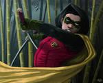 A Duel with Robin (Damian Wayne)