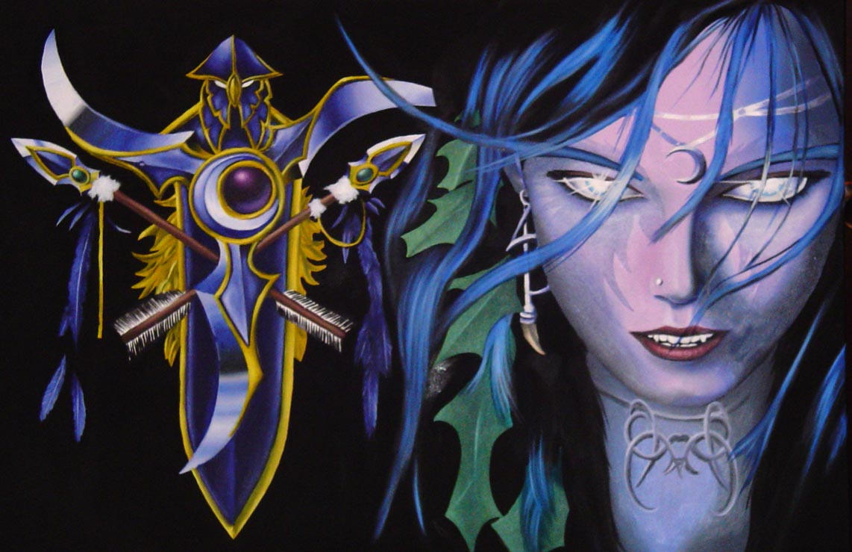 Night Elf    by starvingartist1983