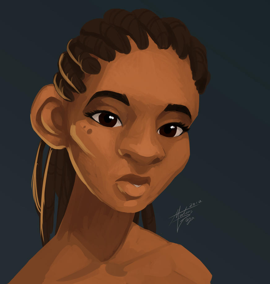 Africanbust-2 by mateusboga