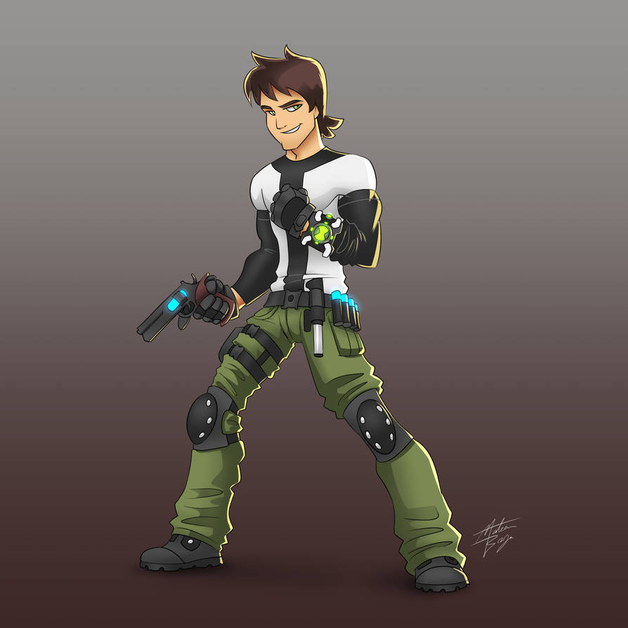 Ben 10,000 Redesign (Commission)