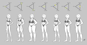 Female Body Types Study