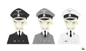 Heinrich Von Preuss ( Uniform Variant ) by Toaru-Kun