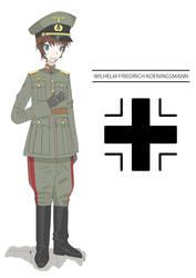 WILHELM FRIEDRICH KOENINGSMANN by Toaru-Kun