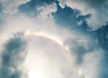 Rainbow Sun by SheSpider3
