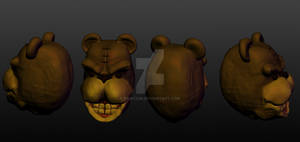 Mr Cuddles - 3D Head Concept