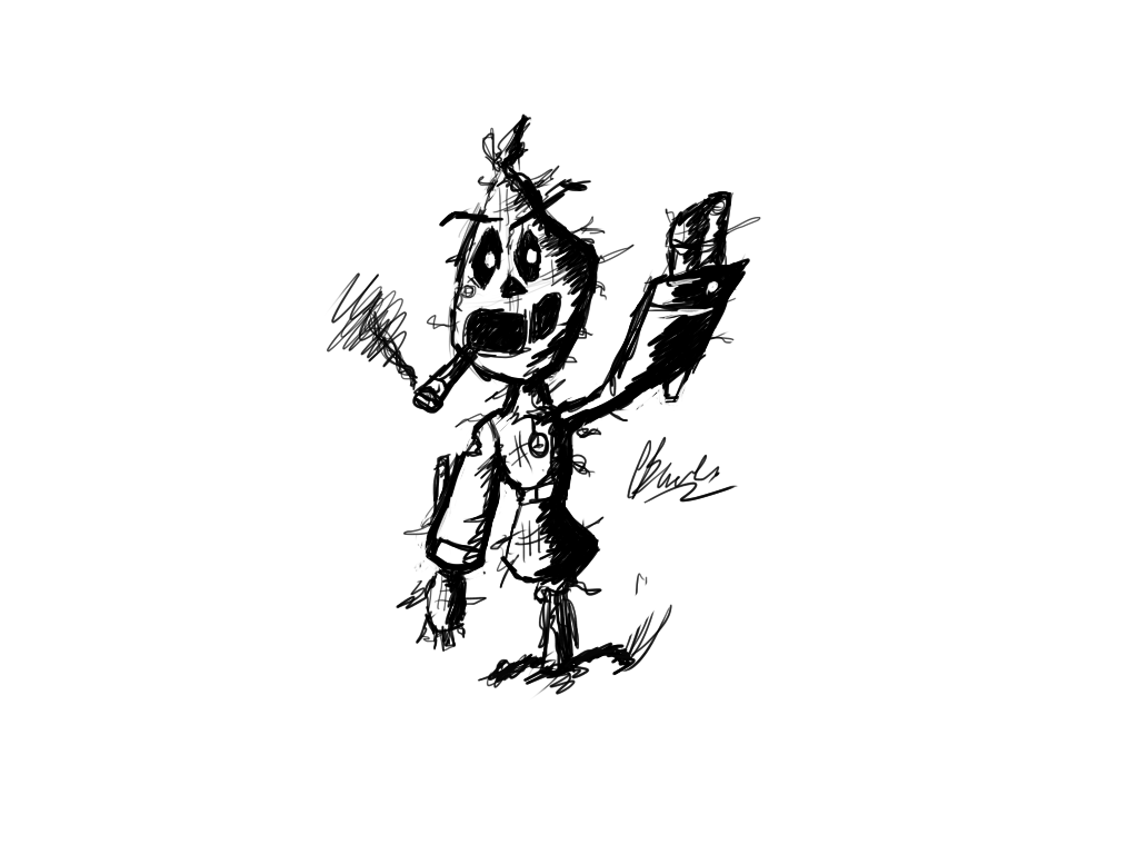 Potato Bag - Quick Sketch