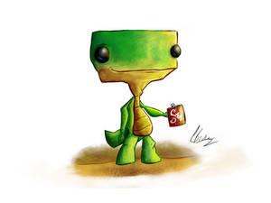 Lizard's Drinking Addiction