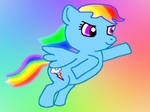 Rainbow Dash by CrescentDream15