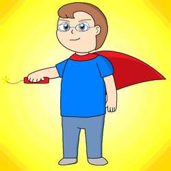 Cartoon Hero by CrescentDream15