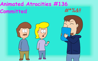 Animated Atrocities #136 Title Card by CrescentDream15