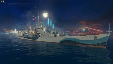 The Lovely Atlanta Class Cruiser