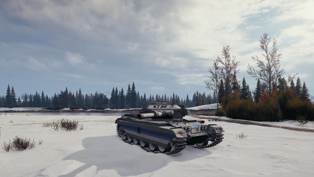 Winter Wonderland by WorldofTanks