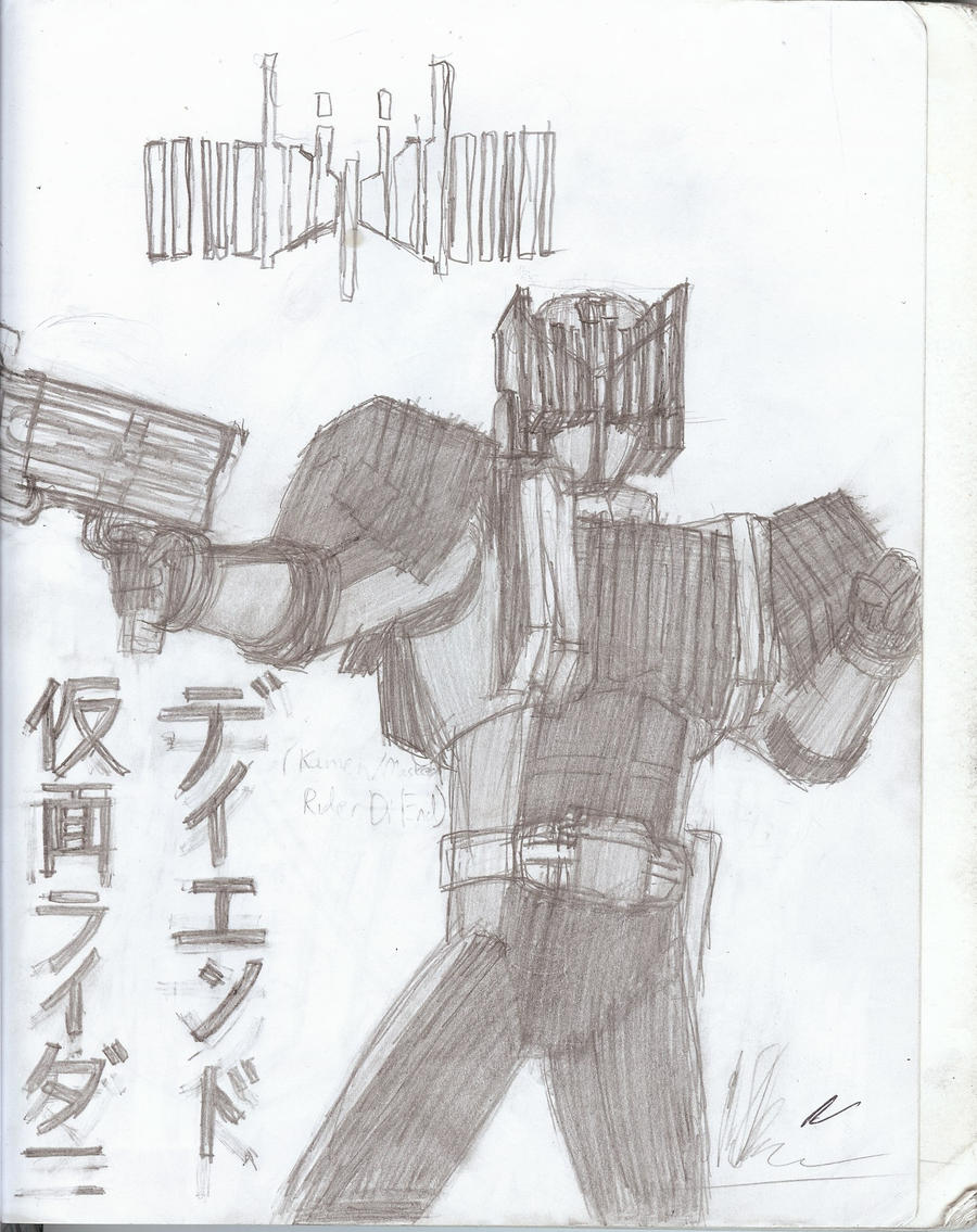 Kamen Rider DiEnd by CycloneDeathMetal