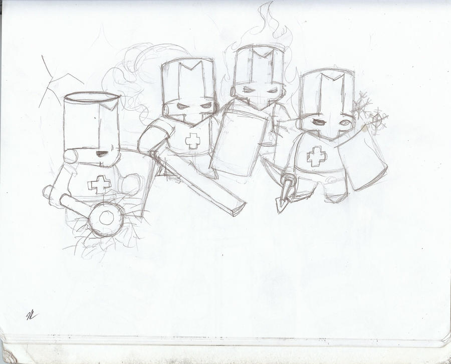 Castle Crashers Coloring Pages  RedCabWorcester  RedCabWorcester