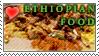 I Love Ethiopian Food Stamp by metranisome