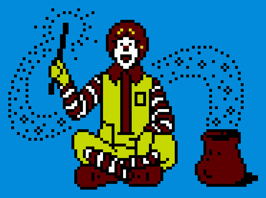 Ronald Mcdonald Random Pixel Art 2 By Colsjin On Deviantart