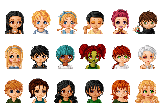 Hunger Games Characters by hez-g on DeviantArt