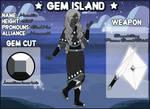 Gem Island - Hematite