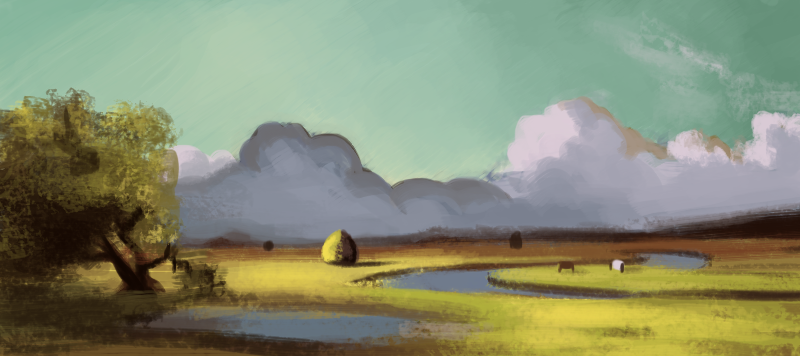 Color Study - SnS: The Newbury Marshes by Bored-dood