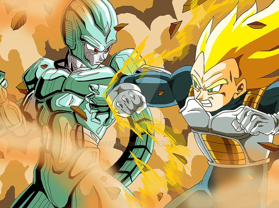 Cooler, Vegeta Dragon Ball Z by Sersiso on DeviantArt