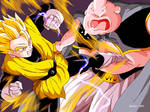 Gohan and Buu Dragon Ball Z