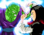 Piccolo and C17 Dragon Ball Z