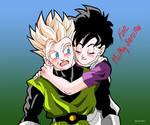 Gohan and Videl Dragon ball z