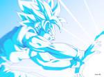 Goku Kame hame ha