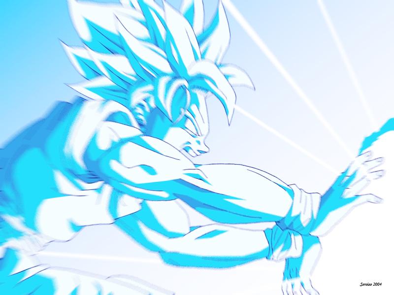 Goku Kame hame ha by Sersiso