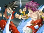 Goku and Broly 2