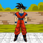Animation Gif Goku DBZ by Sersiso