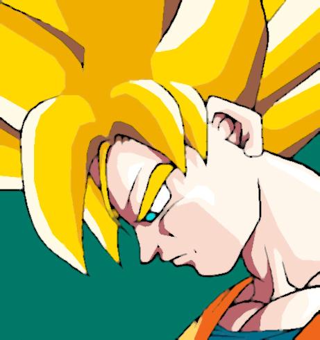 Goku concerned by Sersiso