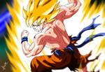 Dragon Ball Z Goku on Namek