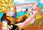 Dragon Ball Z Goku vs Buu