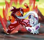 DBZ Goku And Freezer