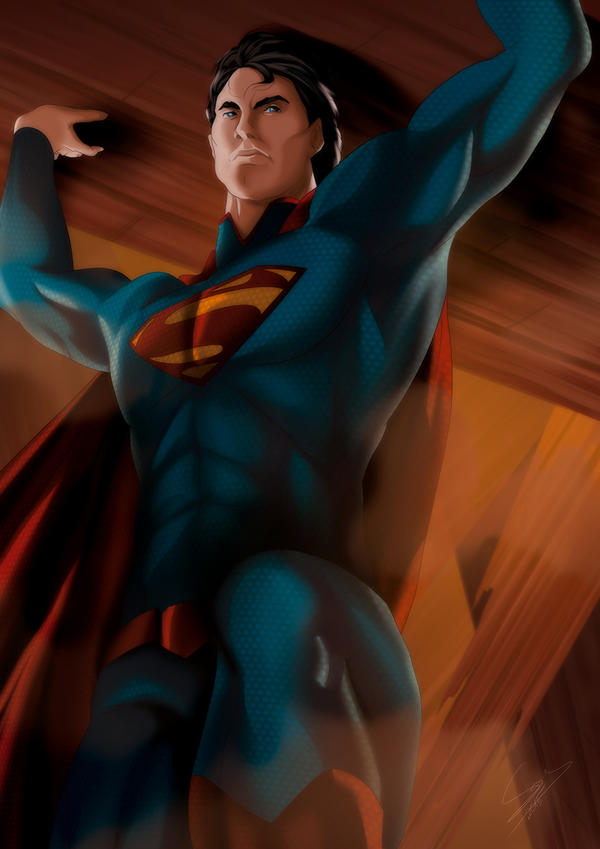 Superman by Sersiso
