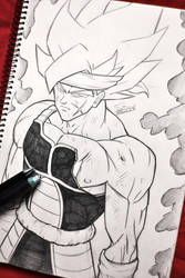 Bardock Super Saiyan Style Manga by Sersiso